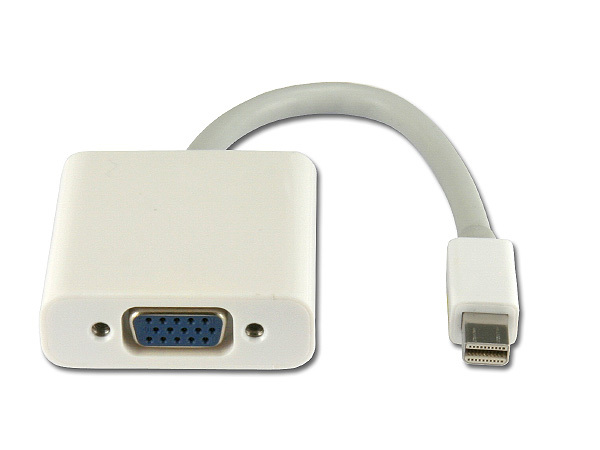 MINI DISPLAY PORT TO VGA CABLE ADAPTER