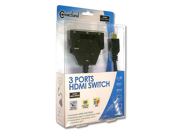 3 PORTS HDMI SWITCH