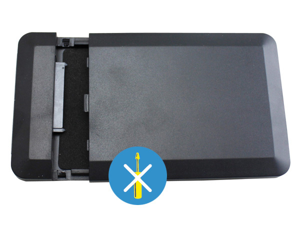 EXTERNAL ENCLOSURE FOR HARD DISK